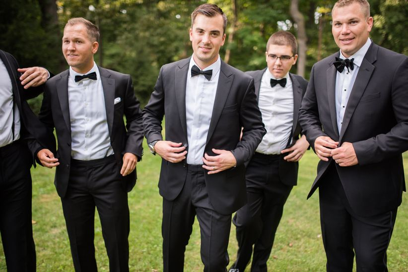 e38ce1c32 Groom's Accessories 101: From Bow Ties to Pocket Squares - WeddingWire