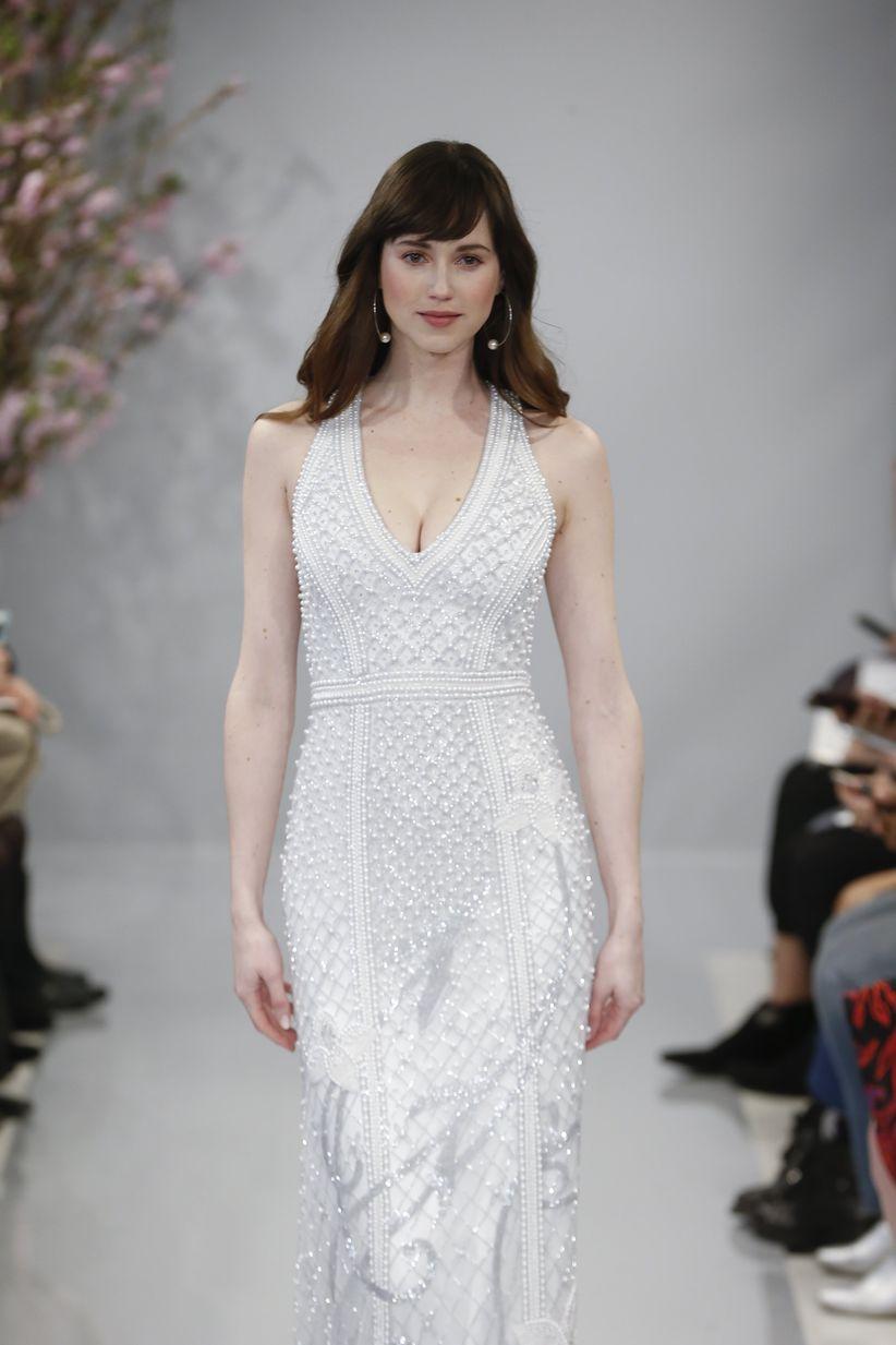 halter wedding dress theia