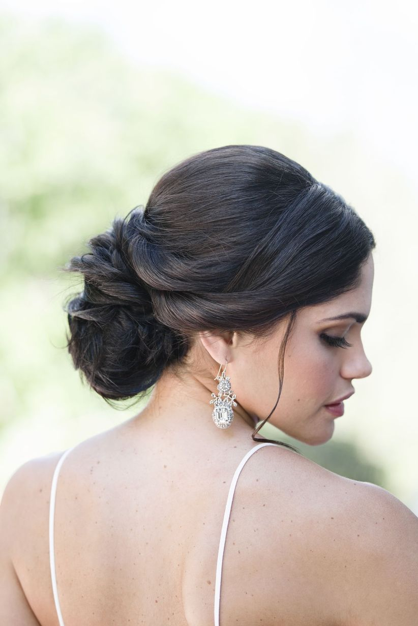 hamilton wedding photo shoot hairstyle