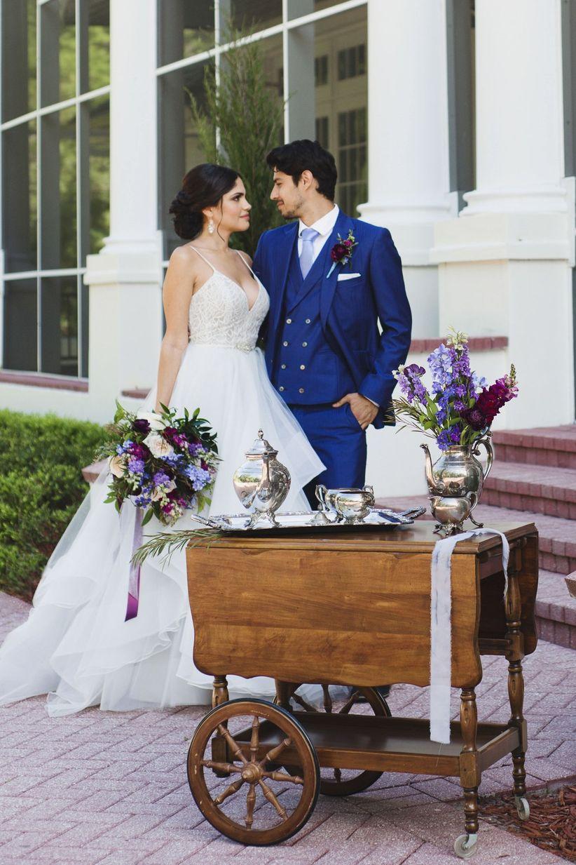 hamilton inspired wedding details