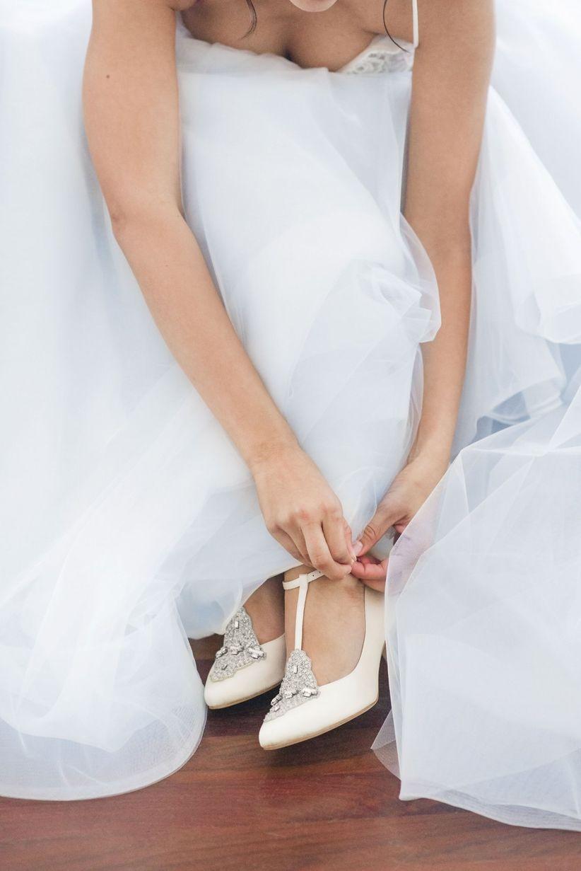 hamilton themed wedding shoes