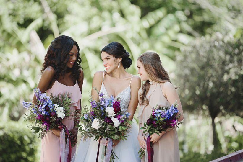 hamilton inspired wedding ideas bridesmaids