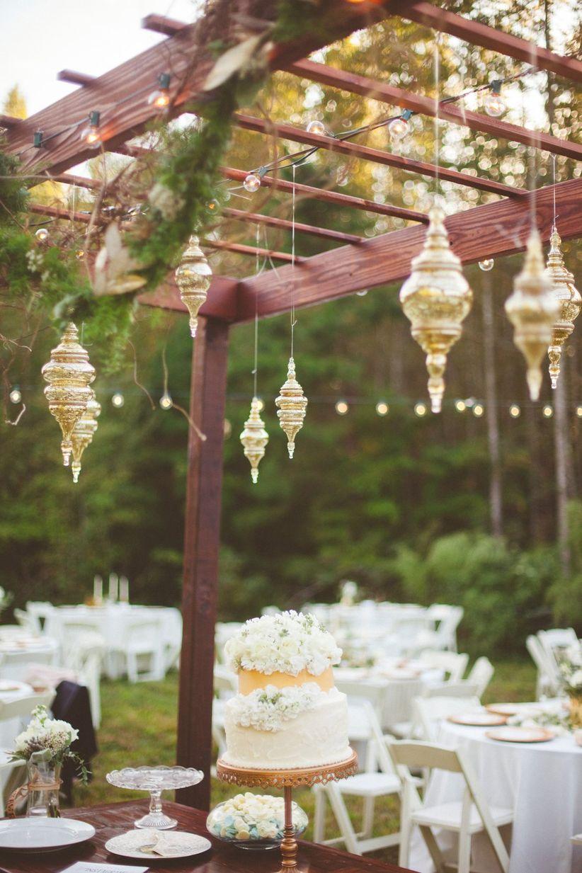 glam vintage hanging chandeliers