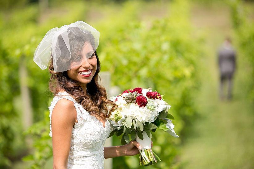 blusher wedding veil