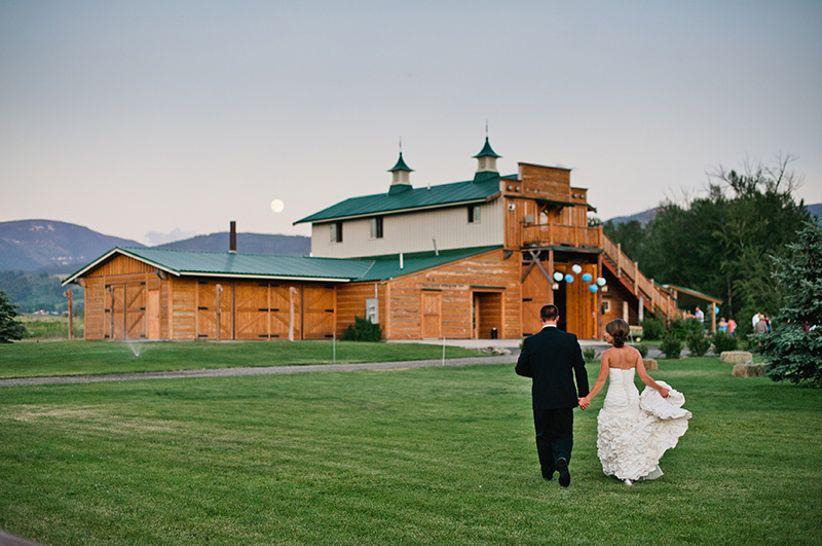 Hart Ranch Montana wedding venue