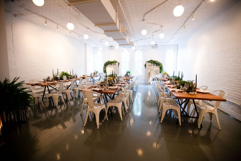 14 small wedding venues in new york city weddingwire havens kitchen nyc junglespirit Choice Image