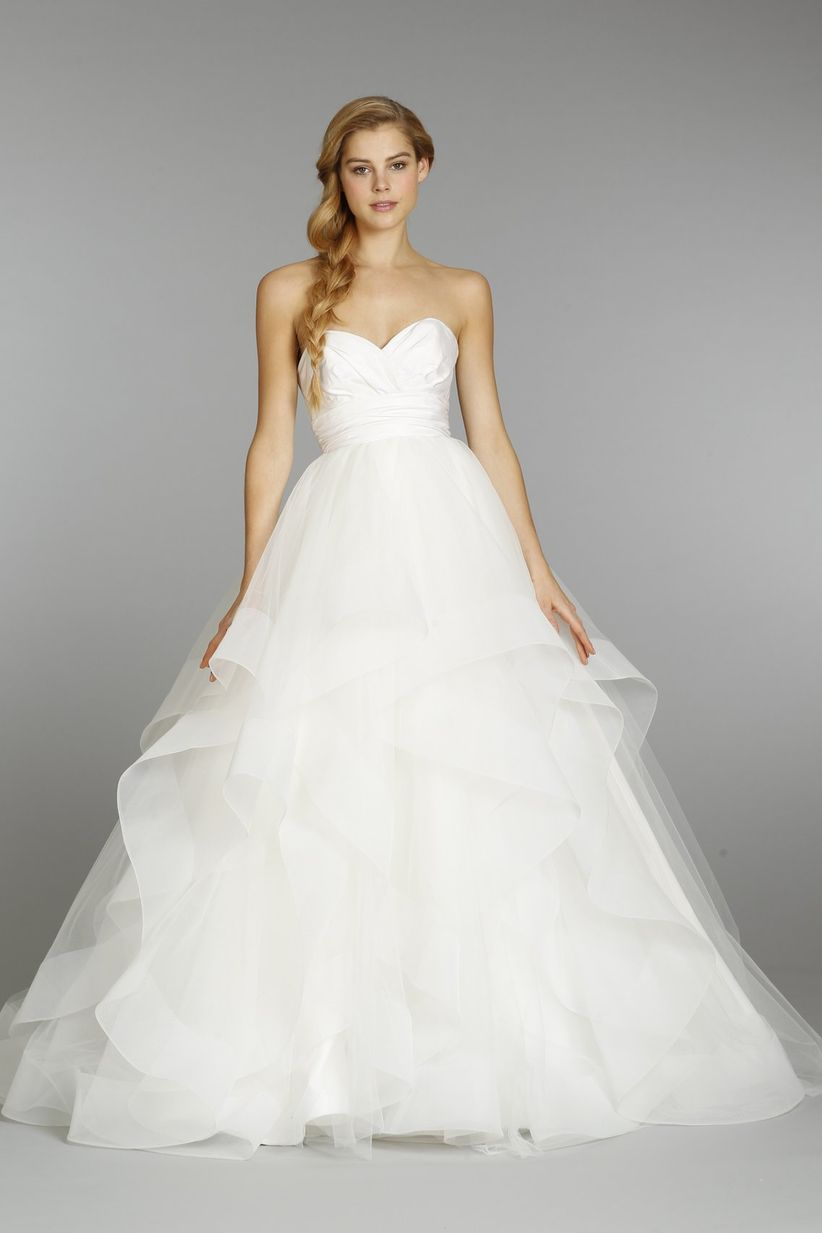 Here Are 23 Wedding Dresses In Stores Now For Less Than 3000: Elegant Strapless Wedding Dresses Puffy At Websimilar.org