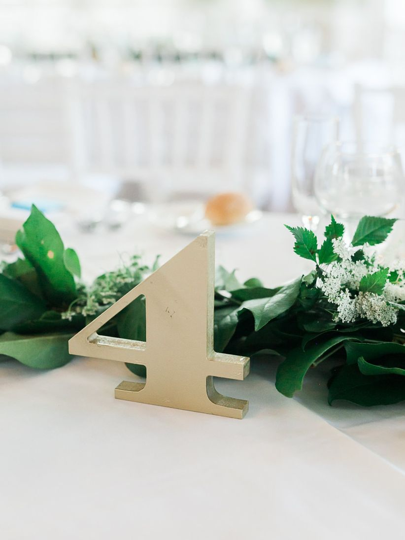 house number table numbers