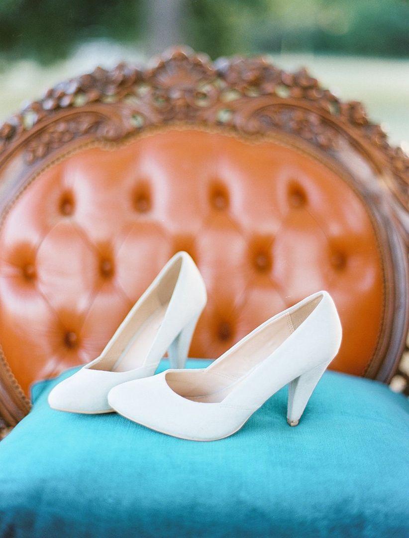 classic bridal pumps