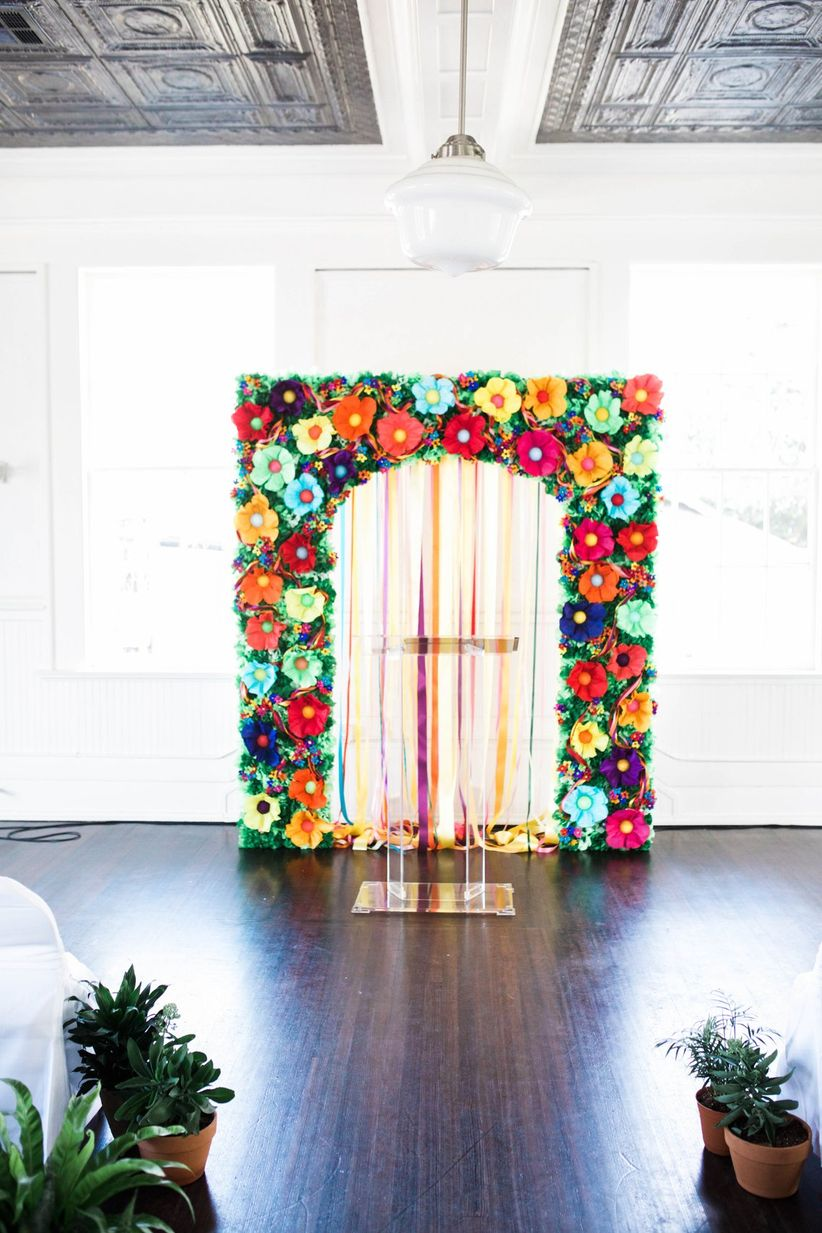 These Indoor Ceremony Backdrops Will Make You Pray For Rain Weddingwire