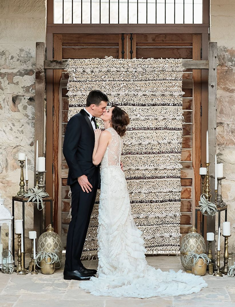 These Indoor Ceremony Backdrops Will Make You Pray For