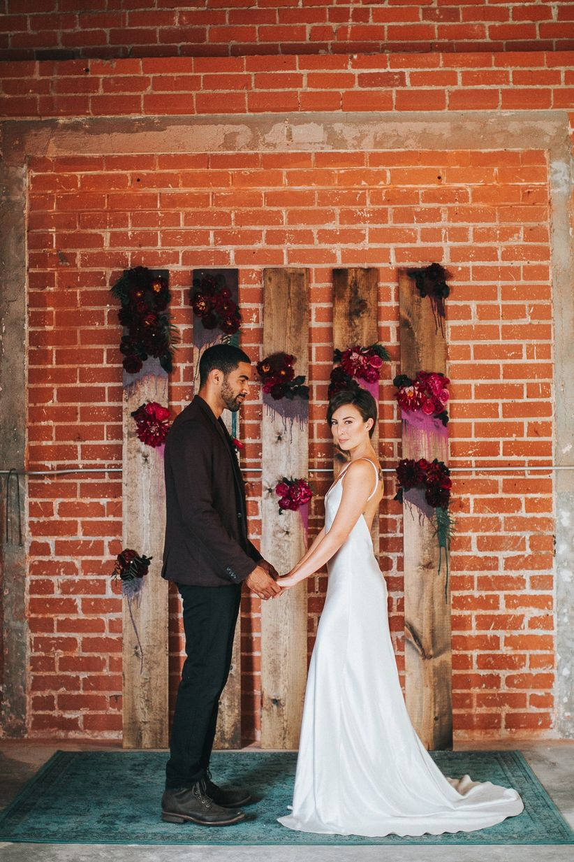 These Indoor Ceremony Backdrops Will Make You Pray for Rain ...