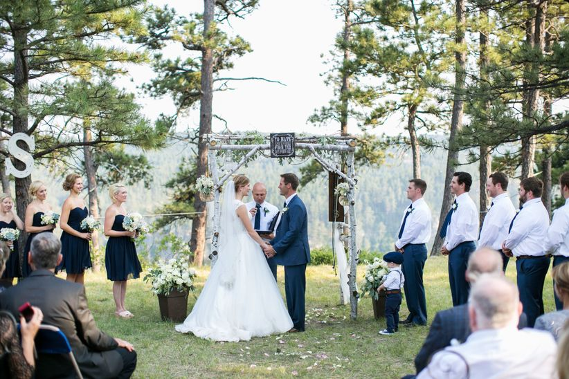 Vows 101 what you need to know about wedding vows weddingwire wedding vows are an essential part of your ceremony but what does a wedding vow actually entail junglespirit Images