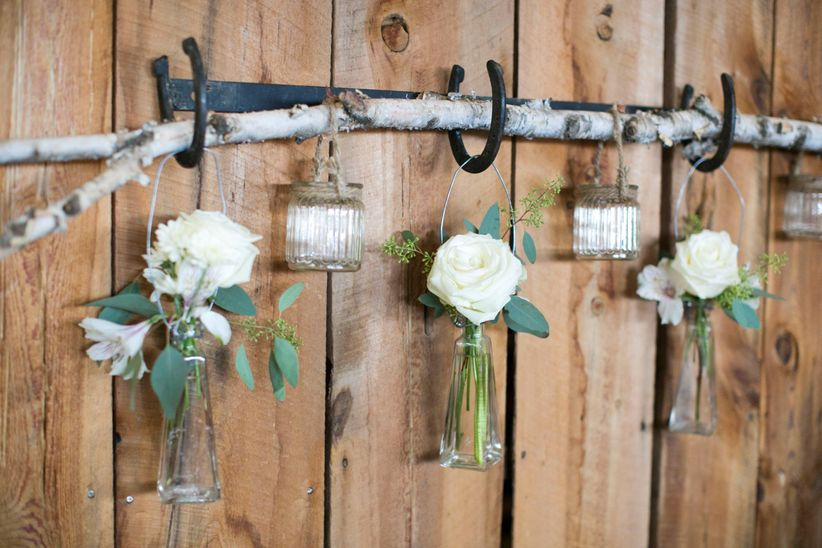 Hanging rustic decor