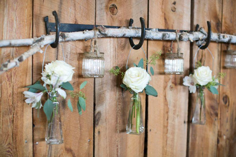 Hanging rustic decor