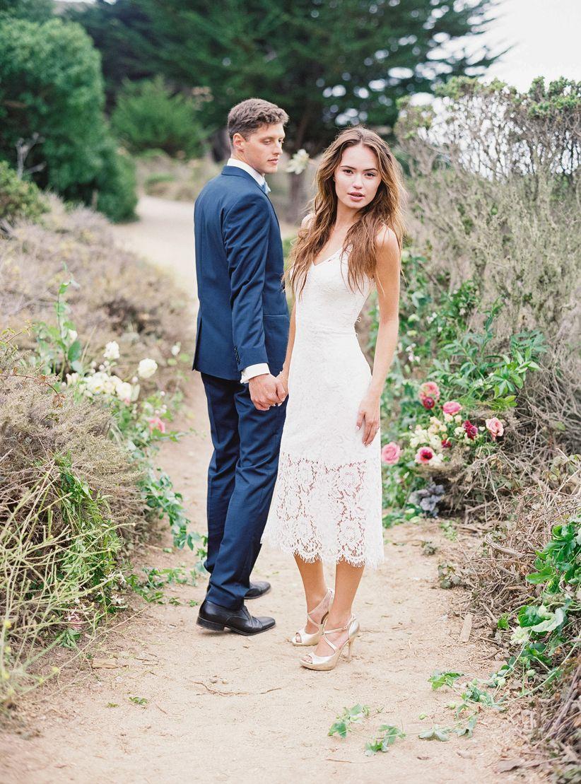 lace and liberty wedding dress