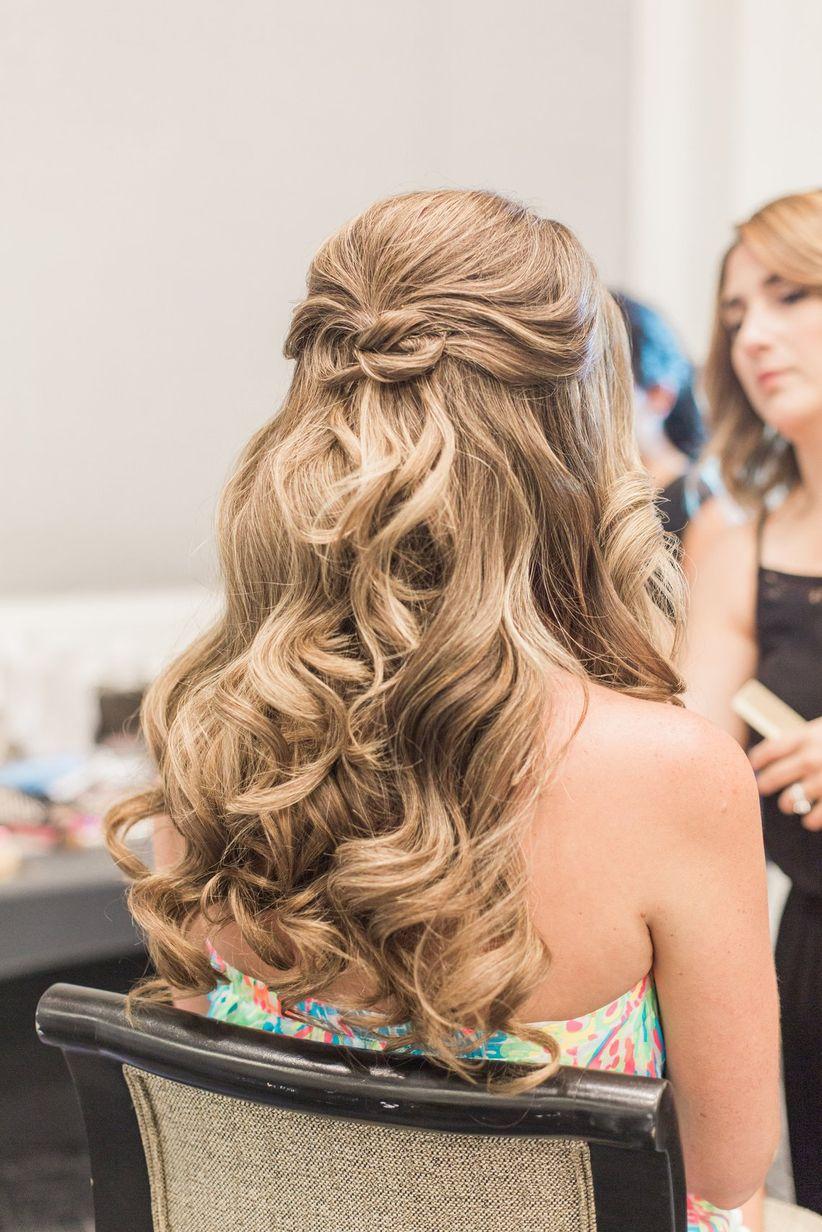 12 sweet ideas to steal from lauren conrads wedding weddingwire soft waves solutioingenieria Choice Image