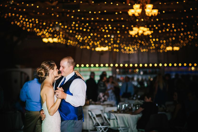 couple dance church ranch event center colorado mallory munson photography