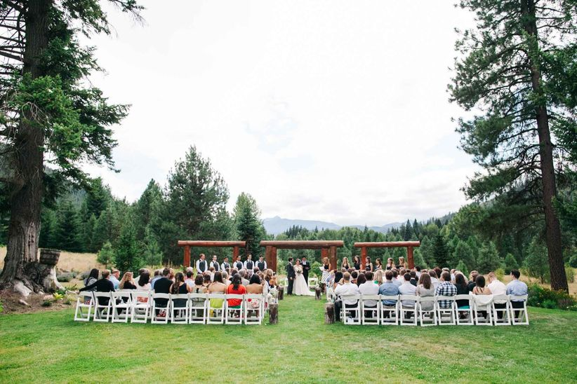 10 Rustic Outdoor Wedding Venues In Seattle WeddingWire