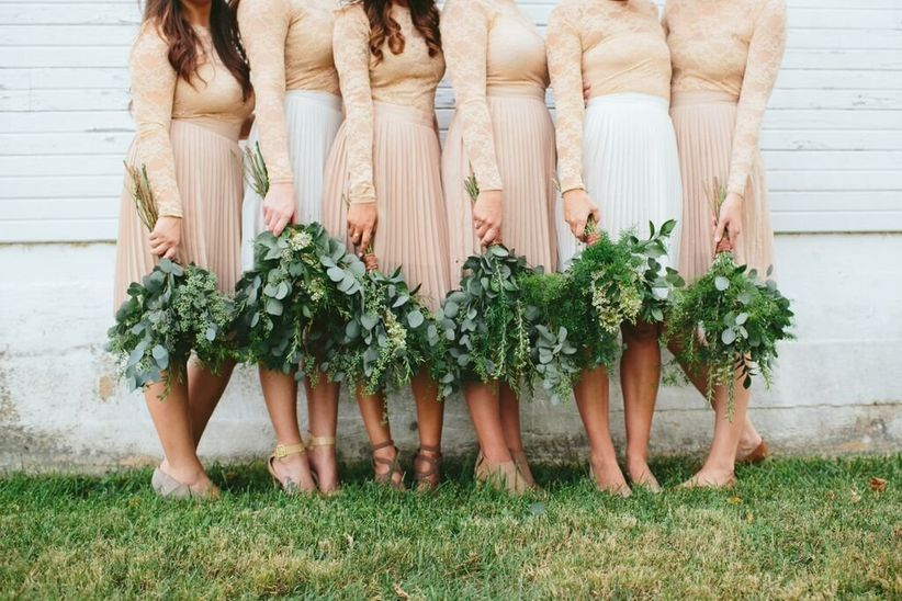 fall bridesmaid ideas