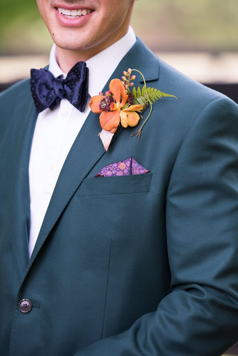 Elegant Jewel-Toned Styled Shoot