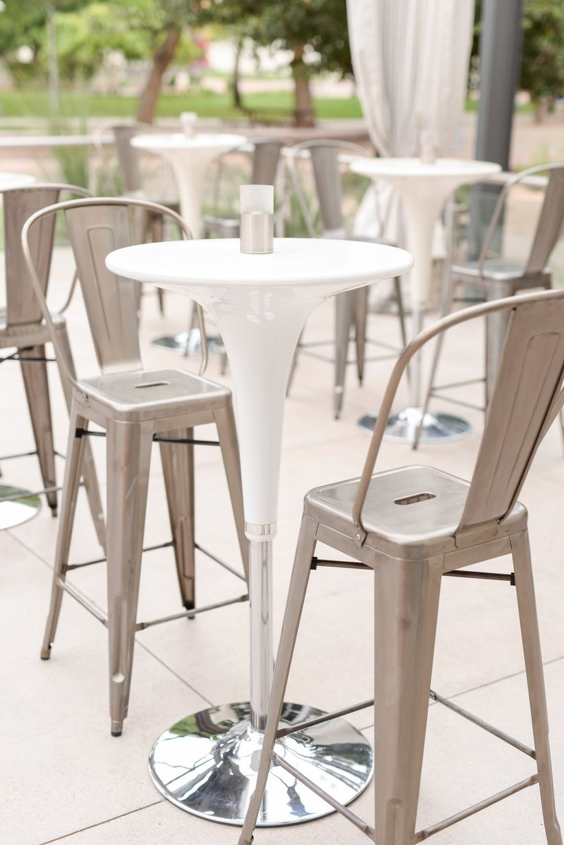 metal marais bar stools