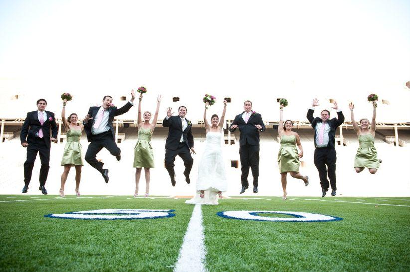 Memorial Stadium wedding