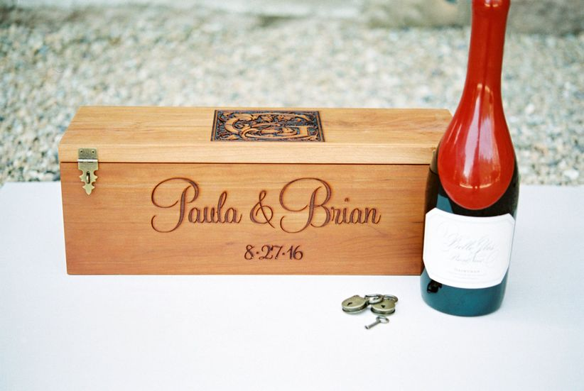custom wedding keepsake box