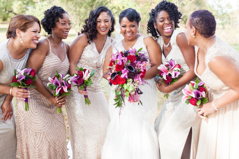 03dd5b7c75e The Evolution of the Bridesmaid Dress - WeddingWire