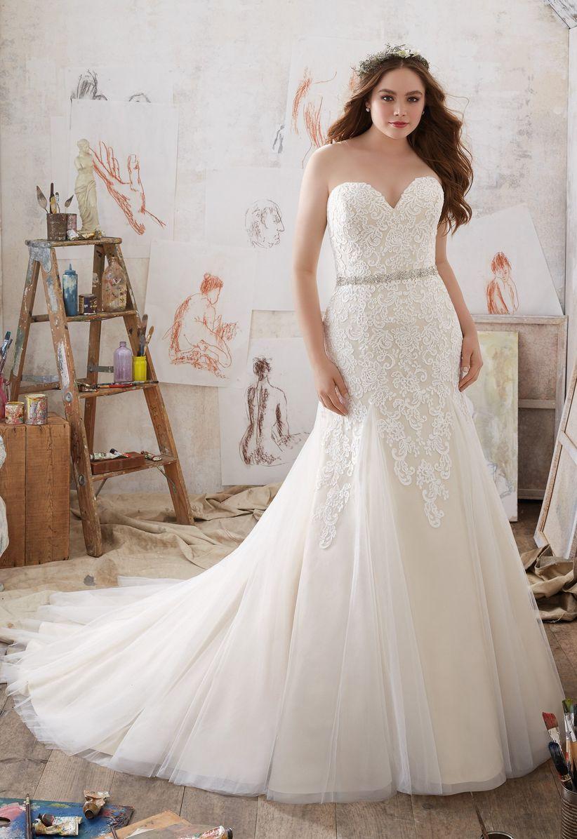 sweetheart neckline wedding dress morilee
