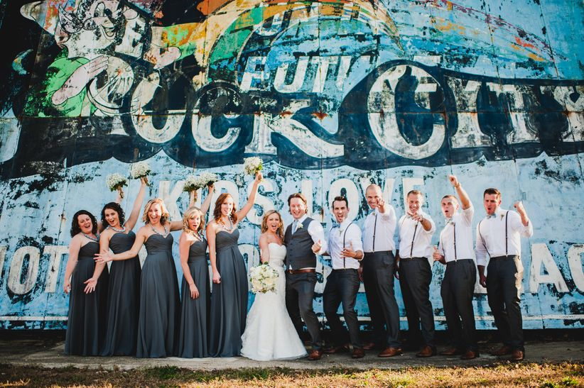wedding party in nashville