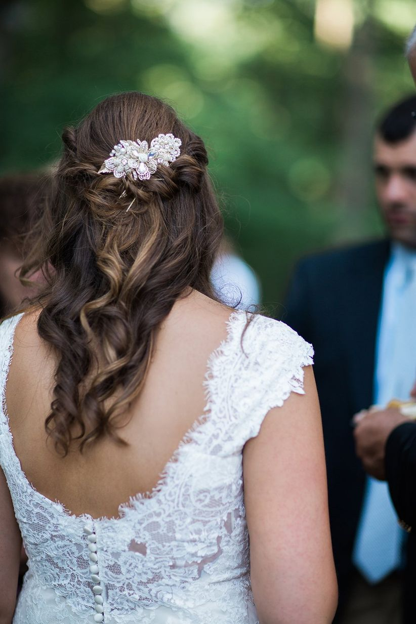 10 Wedding Hairstyles for Long Hair You'll Def Want to Steal - WeddingWire