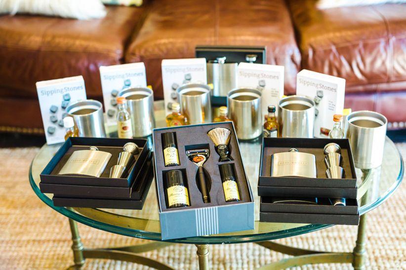 shaving kit groomsmen gift