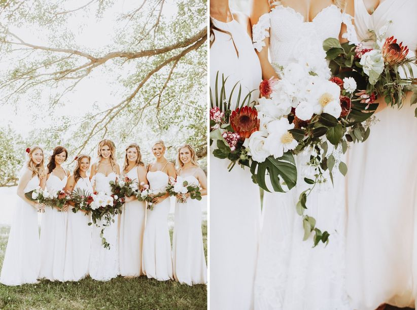 boho bridesmaid ideas