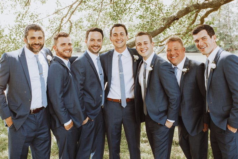 casual groomsmen suits