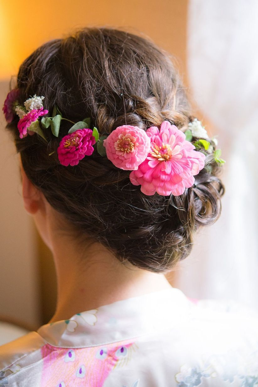 wedding hairstyles for brown hair