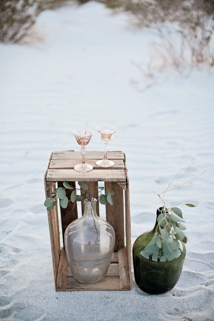 mix and match wedding decor