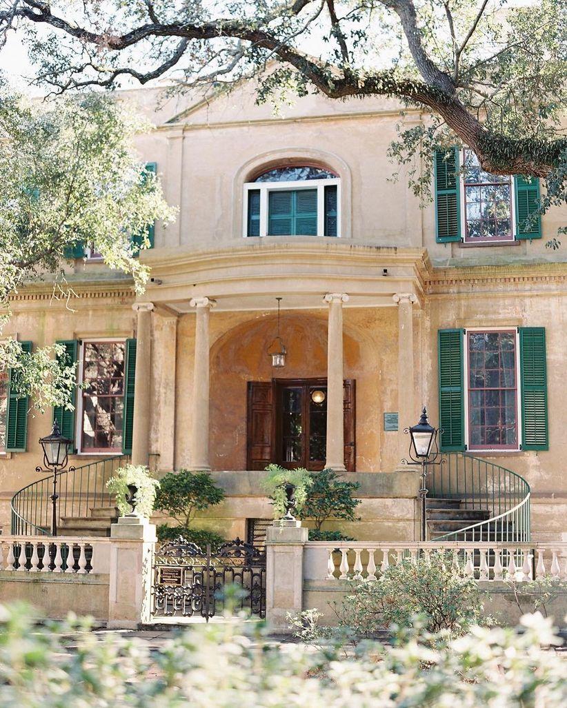 Owens-Thomas House historic mansion wedding venue in Savannah GA
