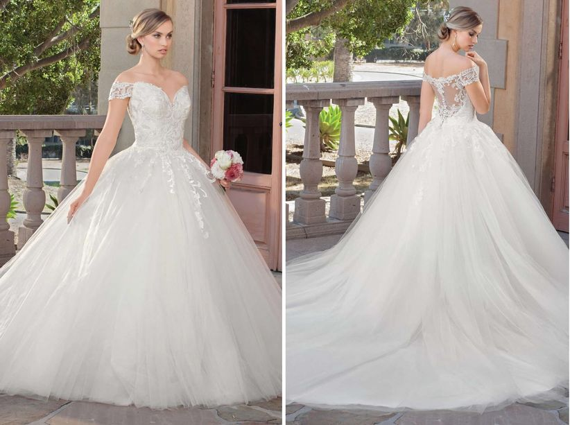 The best wedding dresses for your body type weddingwire wedding dress junglespirit Gallery