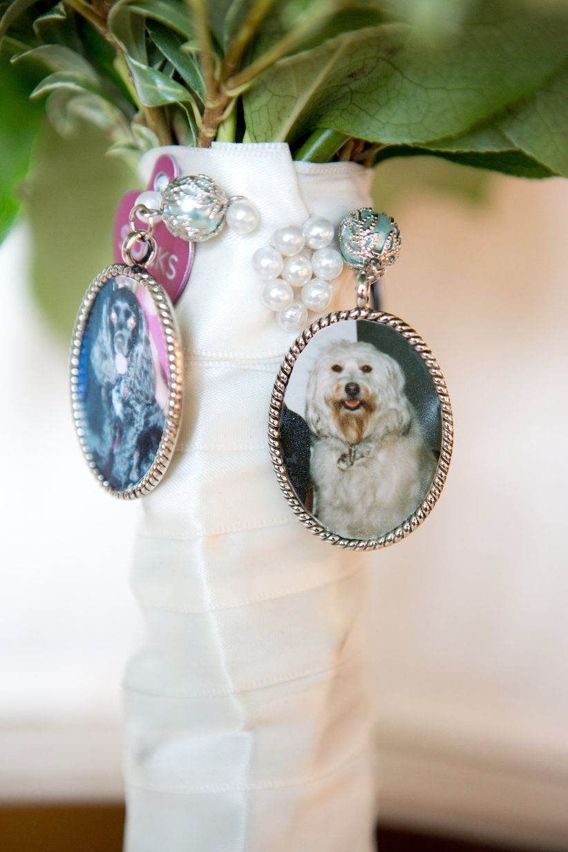 dog bouquet charm becky brown photography