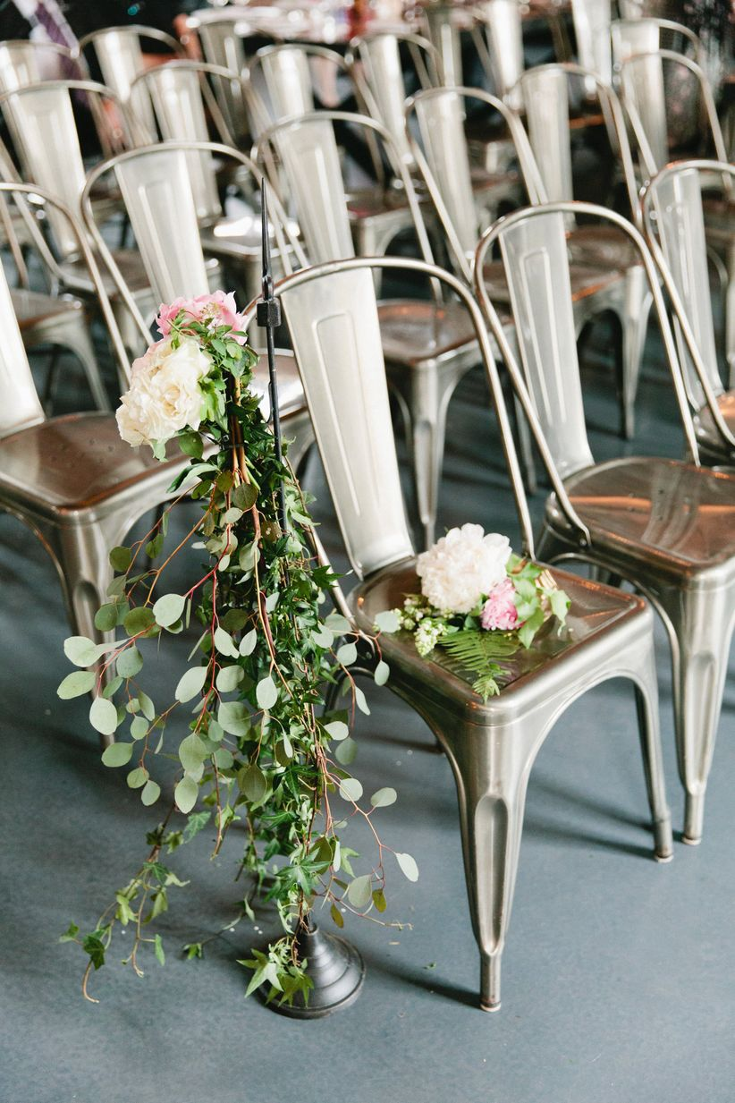 metal ceremony chairs