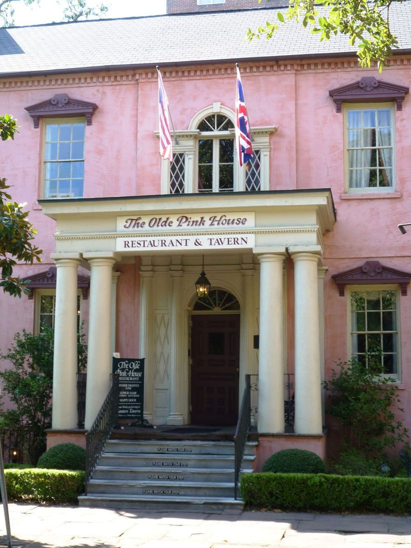 The Olde Pink House Savannah wedding venue