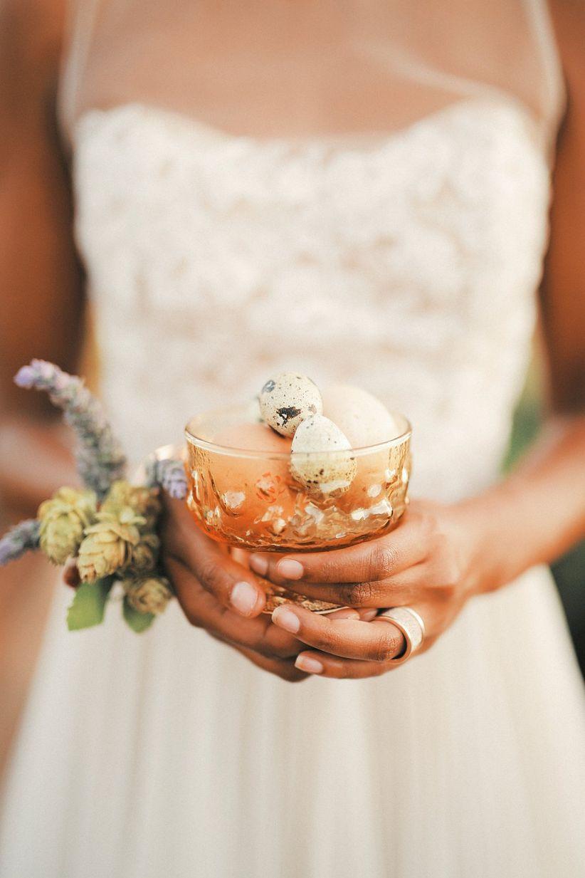 DIY farm-to-table wedding favors
