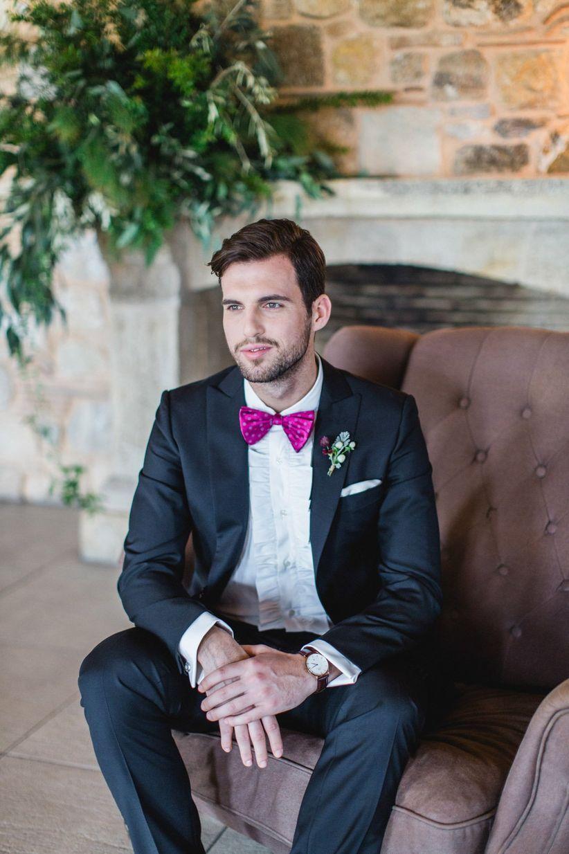 modern tuxedo for groom
