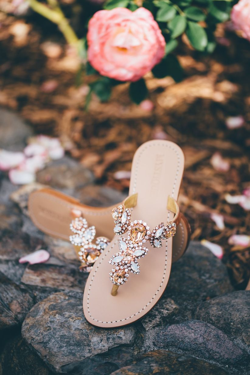 mystique sandals bridal shoes