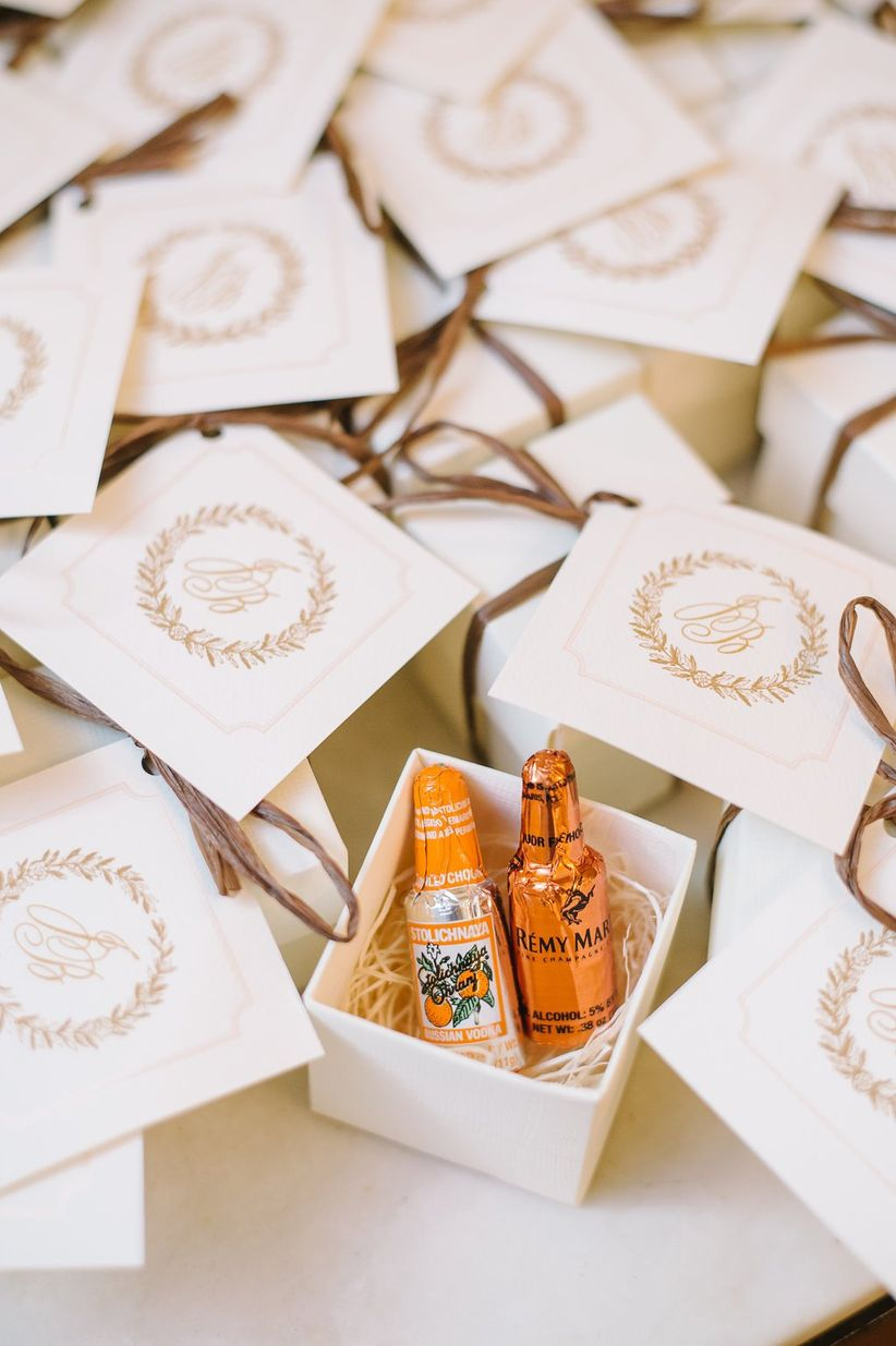 Wedding favor ideas that arent useless or boring weddingwire wedding favor box ideas junglespirit Gallery