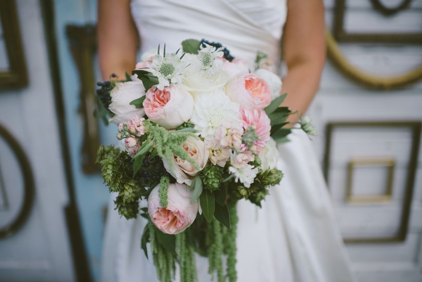 The top 7 spring wedding flowers will make you swoon weddingwire flowers for a spring wedding garden rose bouquet junglespirit Image collections