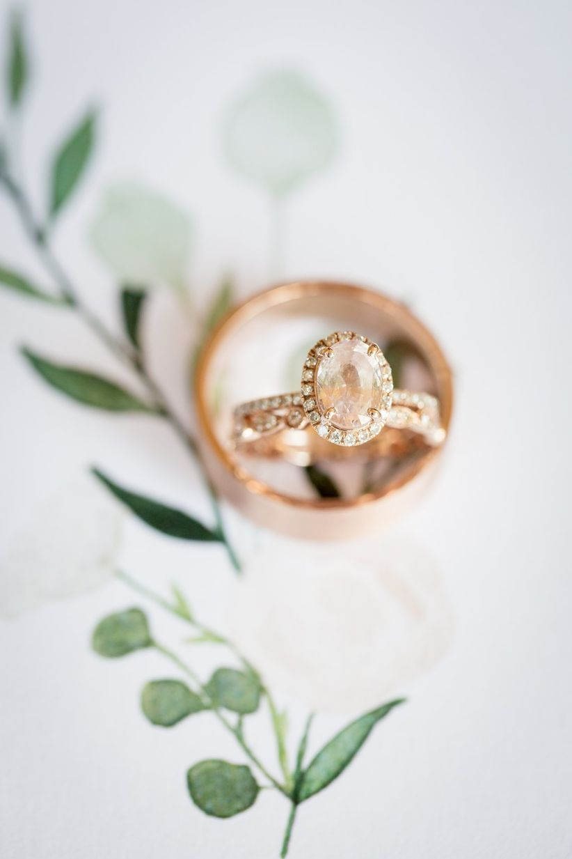 need rose you amber gold green the wedding trends know photography rings weddingwire engagement to ring ideas mermaid