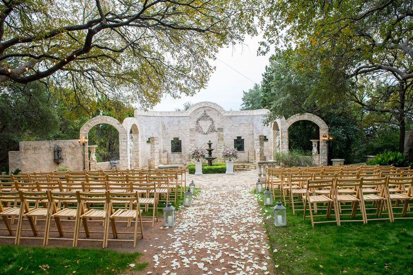 outdoor wedding venues in texas