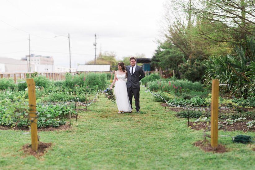 Press Street Gardens outdoor wedding venue in new orleans